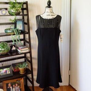 NWT Evan-Picone Little Black Dress